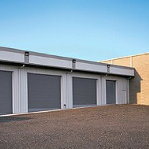 Rolling Steel Commercial Garage Doors