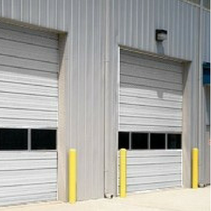 Sectional Steel Commercial Garage Doors